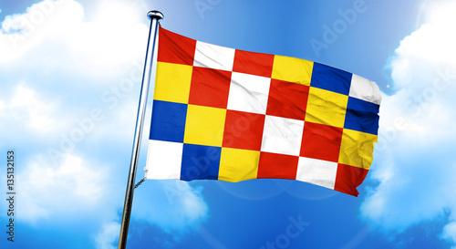 Keuken foto achterwand Antwerpen antwerp, antwerpen flag, 3D rendering