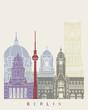 Berlín skyline poster