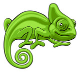 Chameleon Cartoon Ch...
