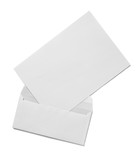 envelope template letter mock up branding