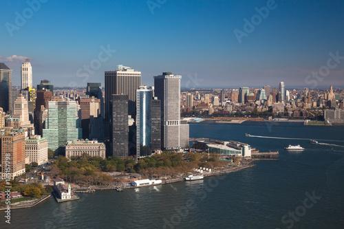 Manhattan downtown. New York NYC. USA