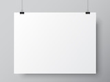Blank White Poster Template - 135190584