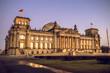 Reichstag budiling in Berlin, Germany