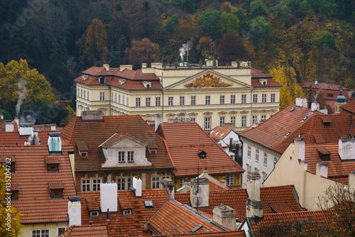 Staande foto Praag prague old town