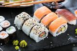 Sushi Verschiedene sorten