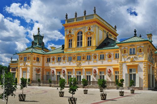 chateau-wilanow-castillo-de-varsovia