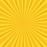 Fototapety Yellow colored back pop art style background