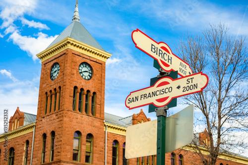 Flagstaff street signs