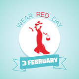 3 February  Wear Red Day