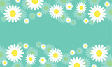 Beauty background spring style collection