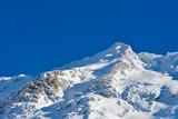 Fagaras mountain peak during winter. Fagaras, Romania