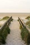 Weg über die Düne zum Strand - Nordseeküste