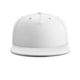 White empty baseball cap or snapback.