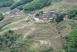 Chinese countryside terraced fields