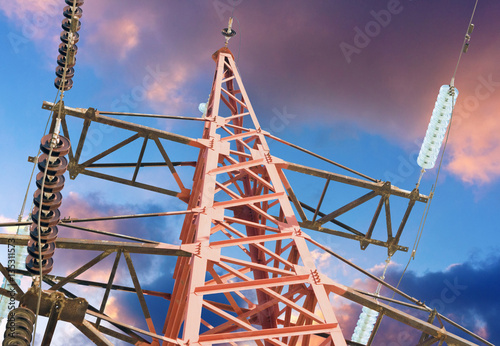 Poster Electrical tower