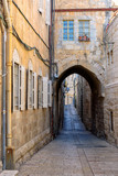 Street in the old city of Jerusalem, Israel.
