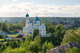 The city of Torzhok, Tver region, Russia. The Church Of St. Michael The Archangel (Annunciation)