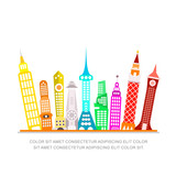 Modern City Vector Illustration