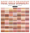 Rose gold gradient perfect colors for design. Vector illustration.