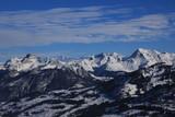 Winter scene in the Bernese Oberland