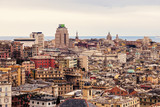 Genoa afternoon panorama