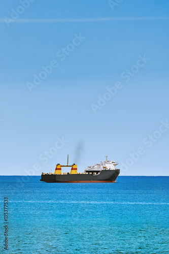 Poster Ship in the Sea