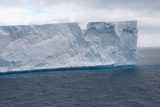 Tabular iceberg in Antarctic Sea