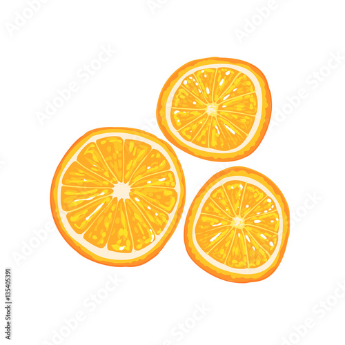 Half Of Orange Fruit And Orange Slice Next To It Cool ...