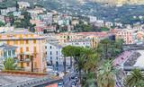 ville de Rapallo, Ligurie, Italie