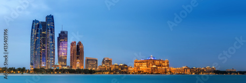 Poster Abu Dhabi Abu Dhabi Skyline