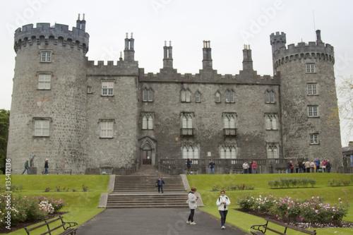 Stampa su Tela castello di Kilkenny Irlanda nord Europa