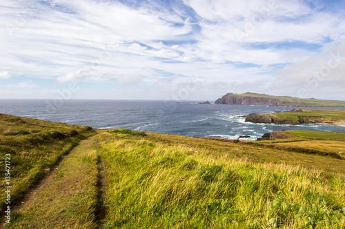 Fotobehang Vuurtoren / Mill Irland Ring of Kerry