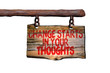 Change starts in your thoughts