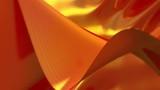 background of mesh waves orange with soft edges