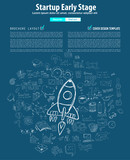Startup Landing Webpage or Corporate Design Covers to use for web promotons