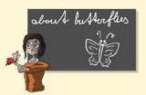 Presenteren over vlinders