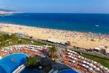 Panoramic view of Sunny Beach - 135445511