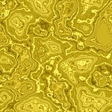 Abstract seamless yellow marbled surface texture