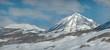 Gothic Mountain Winter Panorama
