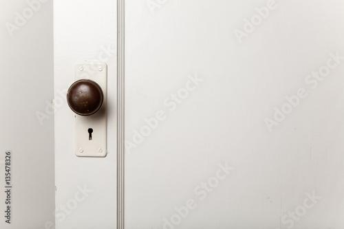 old wooden door with door knob | Buy Photos | AP Images | DetailView