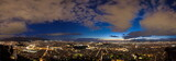 Blue hour Athens panorama
