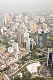 View on Kuala Lumpur from Menara Tower