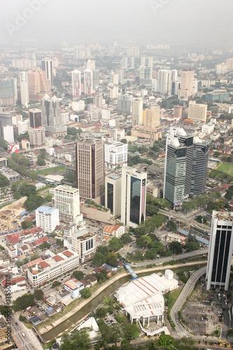 Poster View on Kuala Lumpur from Menara Tower