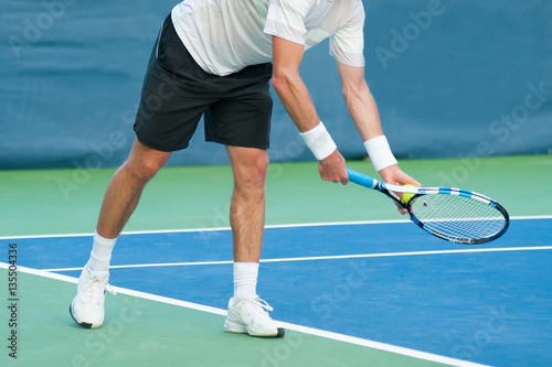 Fotobehang Tennis Tennis Serve