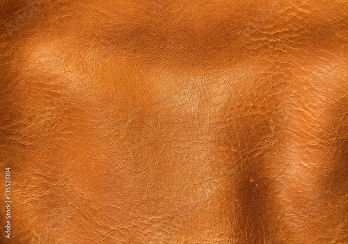 Fotobehang Stof Brown leather texture