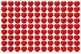 Sfondo cuori. Sfondo per Amore e San Valentino