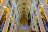 Interior of Chartres Cathedral, France - 135565556