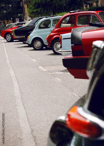 Zdjęcia retro cars exhibition