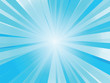 abstract blue rays background
