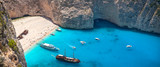 Navagio beach and shipwreck, Zakynthos, Greece